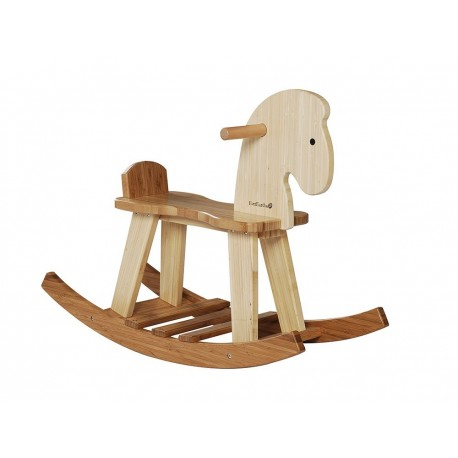BAMBOO ROCKING HORSE BALANCIN de EVEREARTH