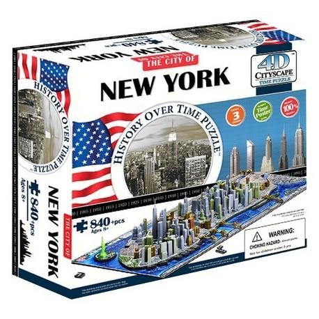 PUZZLE 4D de NEW YORK