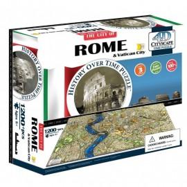 PUZZLE 4D ROMA&VATICANO de CITYSCAPE