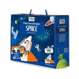 SPACE LIBRO+PUZZLE de SASSI en inglés