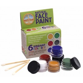 KIT DE MAQUILLAJE NATURAL PARA CARA y CUERPO de NATURAL EARTH PAINT