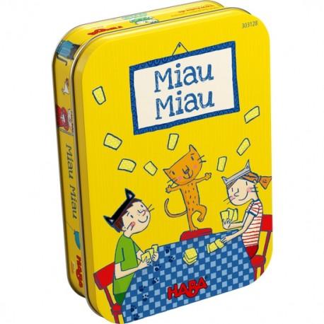 MIAU MIAU JUEGO de CARTAS de HABA