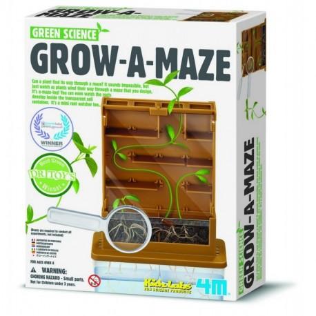 GROW A MAZE GREEN SCIENCE de 4M