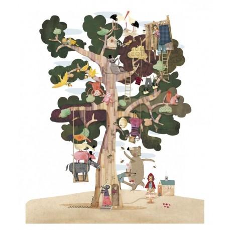 MY TREE PUZZLE REVERSIBLE DE LONDJI