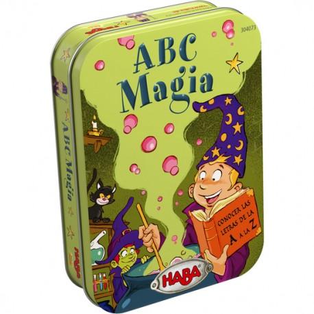 A B C MAGIA - JUEGO en LATA de HABA