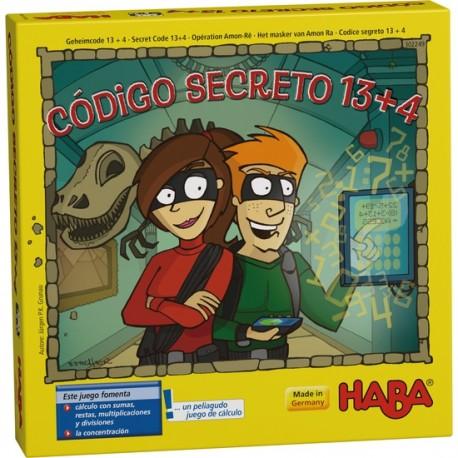 CÓDIGO SECRETO 13 + 4 JUEGO de CÁLCULO – HABA