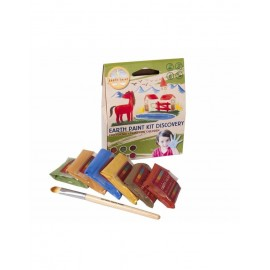 KIT DE PINTURAS DISCOVERY 1 litro- NATURAL EARTH PAINT