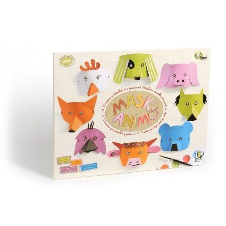 MASK'ANIMO KIT de cartón de MITIK