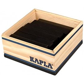 KAPLA - 40 PLAQUITAS NEGRAS de CONSTRUCCIÓN