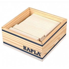 KAPLA - 40 PLAQUITAS BLANCAS de CONSTRUCCIÓN