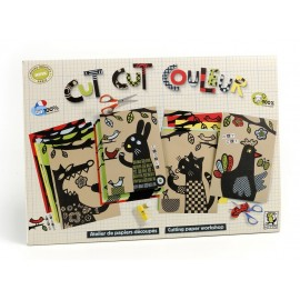 CUT CUT COULEUR KIT de CARTÓN DE MITIK