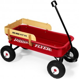 RADIO FLYER – VAGÓN BIG RED ATW con RESPALDO de MADERA