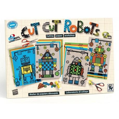 CUT CUT ROBOTS KIT de KARTÓN de MITTIK