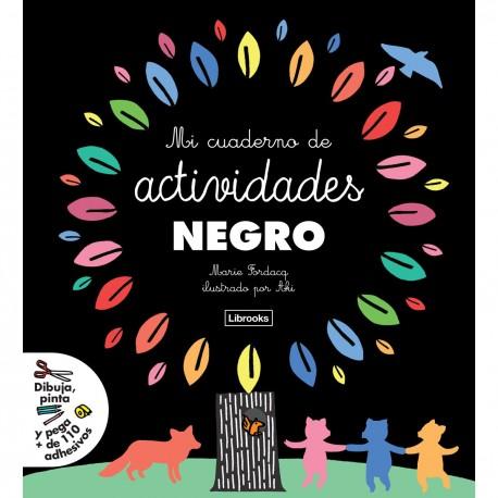 MI CAUDERNO DE ACTIVIDADES NEGRO – EDITORIAL LIBROOKS