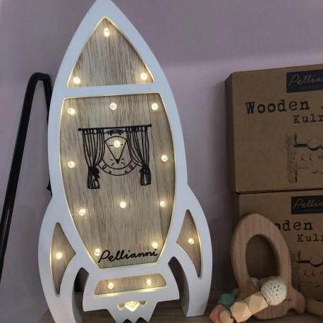 PELLIANNI - LAMPARA QUITAMIEDO COHETE