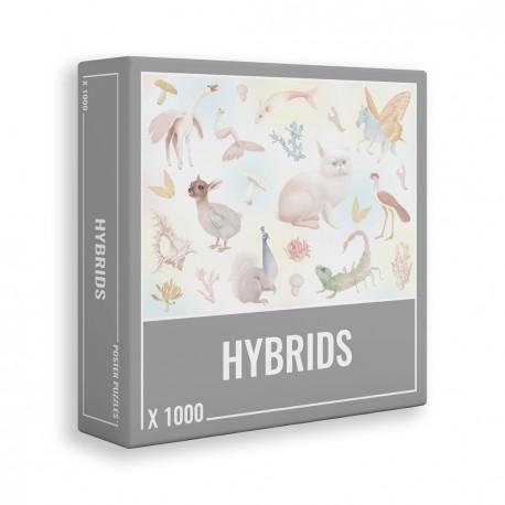 """CLOUDBERRIES – """"HYBRIDS"""" PUZZLE 1000 PIEZAS"""
