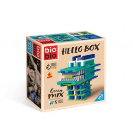 HELLO BOX OCEAN MIX 100 piezas - BIOBLO
