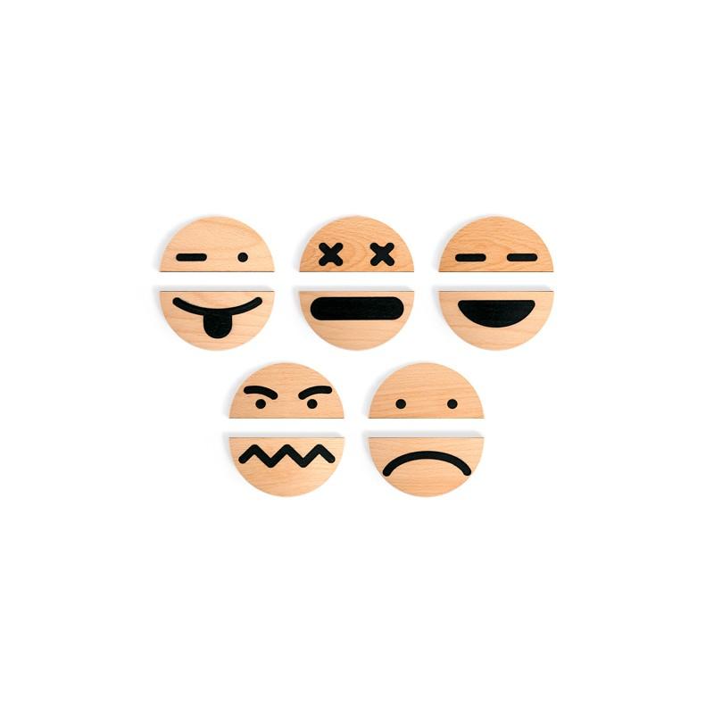 De Ecológico Madera A Para Gestionar Las Emociones Aprender Juego 2EHDI9